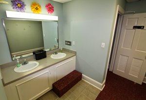 kids club restroom